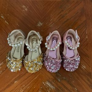 Other - TWO PAIRS OF DRESSY SANDALS FOR BABY GIRL
